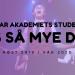 Studenter Bårdar Akademiet: Høst 2019 / Vår 2020
